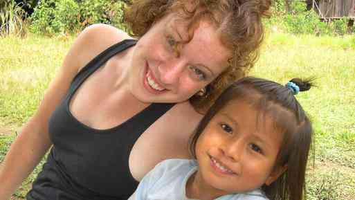 A Childcare Volunteer in Ecuador